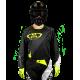 Maillot Motocross Tout-Terrain GD20 Noir Jaune Fluo