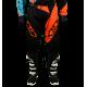 Pantalon Motocross MX Enduro Quad  GD20 Orange KTM Turquoise