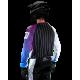 Maillot Motocross Tout-Terrain GD20 blanc violet Pourcel