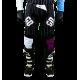 Pantalon Motocross MX Enduro Quad  GD20 blanc violet Pourcel