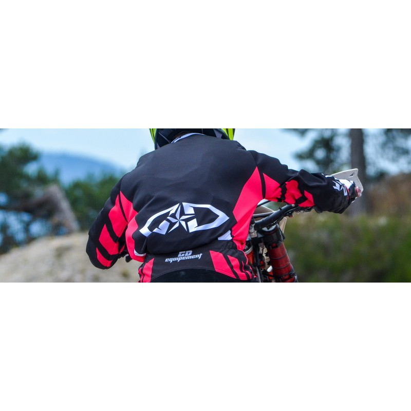 Moto Déstockage Cross Noir Jersey Enduro Promotion Mx Rose Maillot RqLS4cAj35