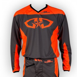 Maillot GD18 Gris-OrangeFluo
