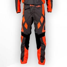 Pantalon GD18 Gris-OrangeFluo