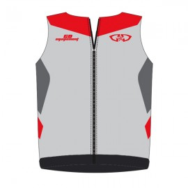 Bodywarmer GD18 Gris-Rouge