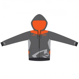 Sweat GD18 Gris-OrangeFluo