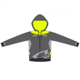 Sweat GD18 Gris-JauneFluo