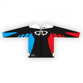 Coupe-Vent GD18 Noir-BleuBlancRouge