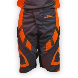 Short GD18 Gris-OrangeFluo