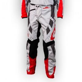 Pantalon GD18 Gris-Rouge