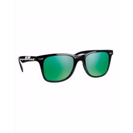 Lunettes de soleil noire-verte