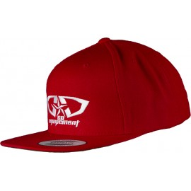 Casquette GD Equipement rouge