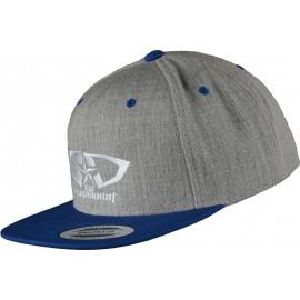 Casquette GD Equipement gris bleu