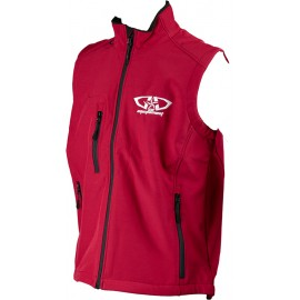 Bodywarmer softshell GD Equipement rouge