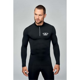Tee-shirt sport moulant