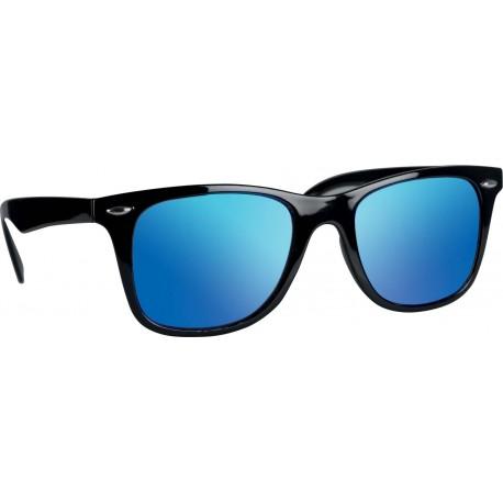 Lunettes de soleil noire-bleue
