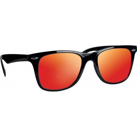 Lunettes de soleil noire-orange