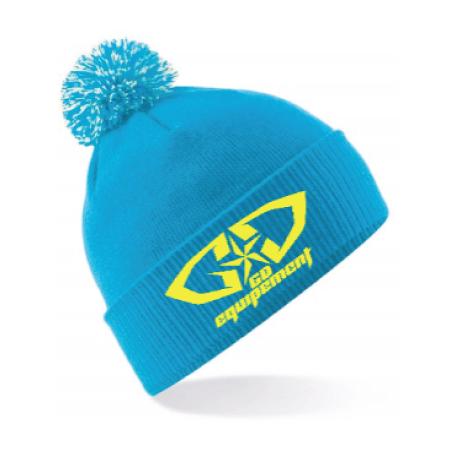 7a4095aa1c Bonnet GD Equipement promotion déstockage bleu jaune fluo
