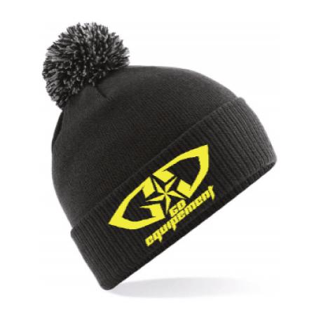 cde494a656 Bonnet GD Equipement promotion déstockage noir jaune fluo