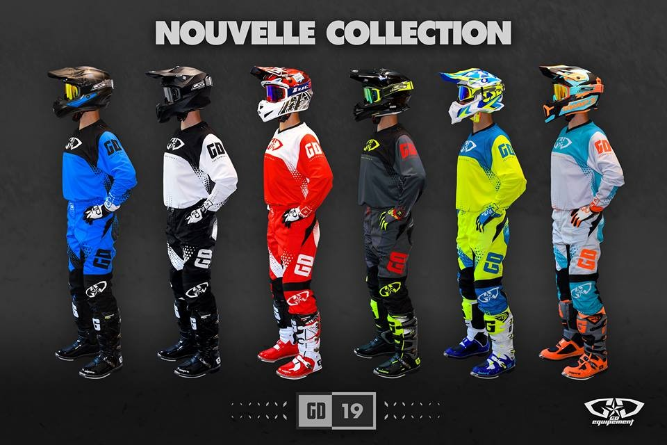 Collection 2019 : équipements motocross - enduro - DH