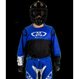 Maillot Motocross Tout-Terrain  GD20 Bleu Noir