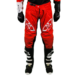 Pantalon Tout-Terrain  GD20 Rouge Noir