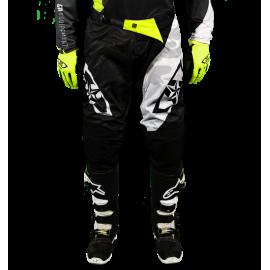 Pantalon Tout-Terrain GD20 Noir Jaune Fluo
