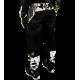 Pantalon Motocross MX Enduro Quad  GD20 Noir Jaune Fluo