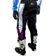 Pantalon Motocross MX Enduro Quad  GD20 blanc violet Pourcel