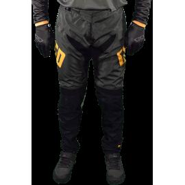 Pantalon Pro DH BMX VTT enduro MTB GD20 gris orange