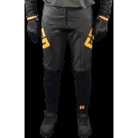 Pantalon Elite DH BMX VTT enduro MTB GD20 gris orange