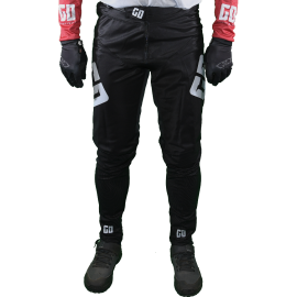 Pantalon Elite DH BMX VTT enduro MTB GD20 gris rouge