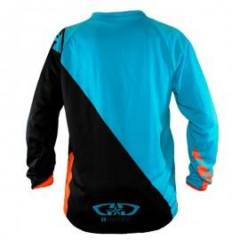 Maillot Perso GD20 Orange Turquoise - NOM PRENOM NUMERO