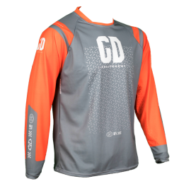 Maillot cross enduro GD21 Gris Orange KTM