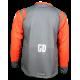 Maillot cross enduro  GD21Gris Orange KTM