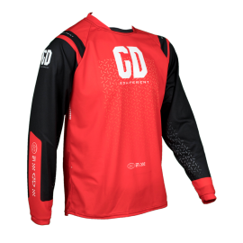 Maillot cross enduro GD21 Rouge Noir