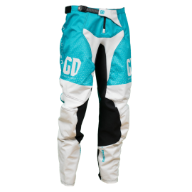 Pantalon cross enduro GD21 Bleu Blanc