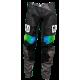 Pantalon cross enduro GD21 Noir Jaune Fluo