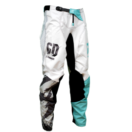 Pantalon cross enduro GD21 Bleu Seb Pourcel