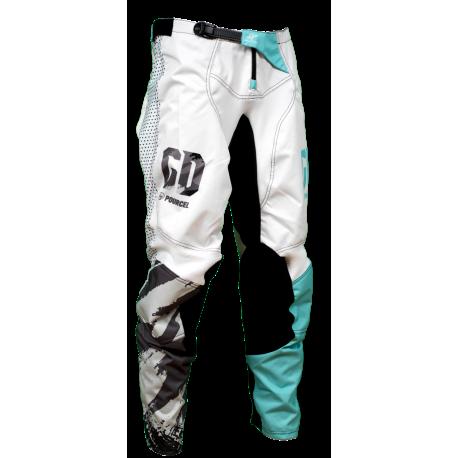 Pantalon cross enduro GD21 Bleu Seb Pourcel