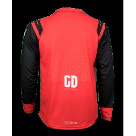 Maillot personnalisé GD21 rouge sublimation