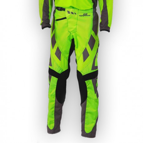 Pantalon GD18 VertFluo-Gris