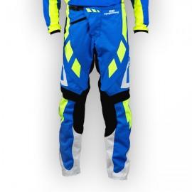 Pantalon GD18 BleuJauneFluo-Blanc