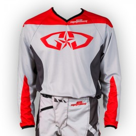 Maillot GD18 Gris-Rouge