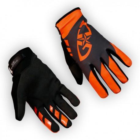 Gants GD18 Gris-OrangeFluo