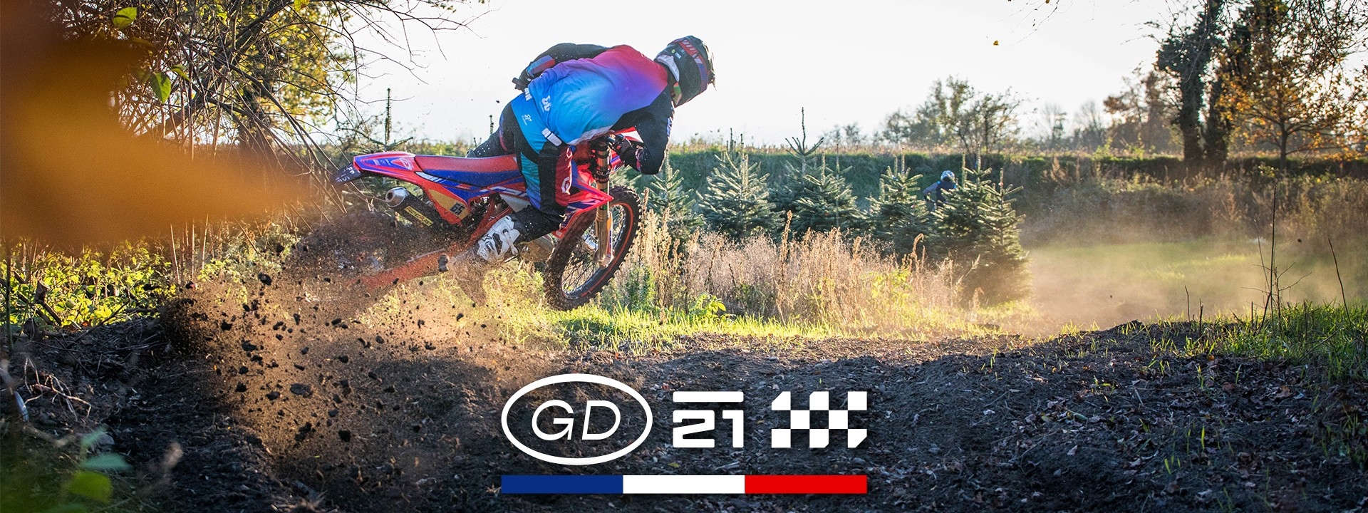Tenue GD21 motocross - enduro - quad : pantalon - maillot - gants